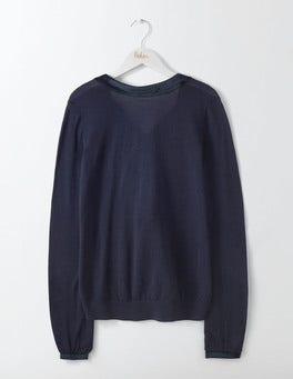Navy Louise Knitted Sweater