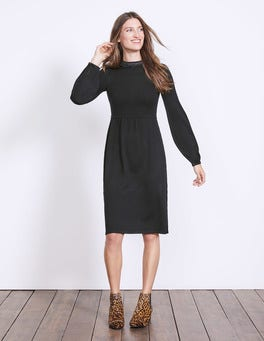 Black Erin Knitted Dress