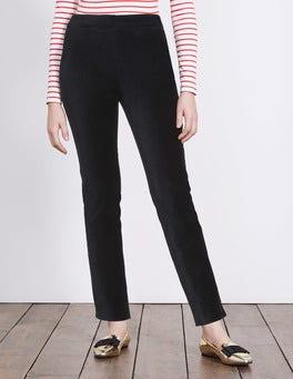 Black Velvet Trousers