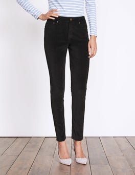 Black Velvet Soho Skinny Jeans