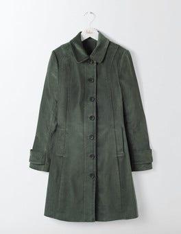 Graphite Keswick Velvet Coat