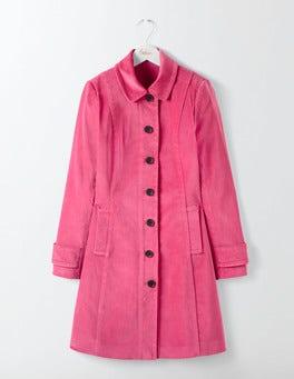Rose Blossom Keswick Velvet Coat
