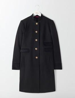 Black Marie Military Coat