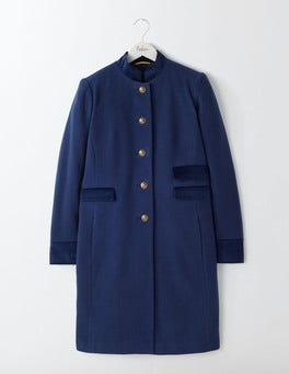 Dark Blue Marie Military Coat