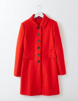 Post Box Red Sofia Coat