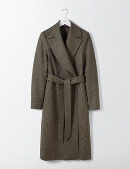 Fell Green Suki British Tweed Coat