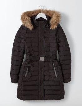 Black Alberta Puffer Coat