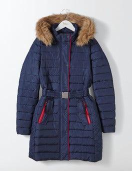 Navy Alberta Puffer Coat