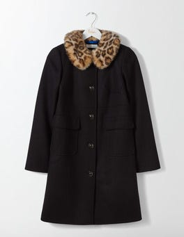 Black Claudette Coat