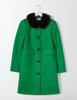 Highland Green Claudette Coat
