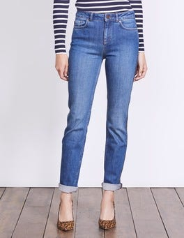 Vintage with Gold Trim Cavendish Girlfriend Jeans