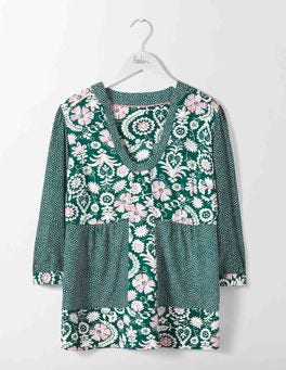Emerald Night Arabesque Mollie Top