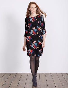 Black Posy Alda Dress