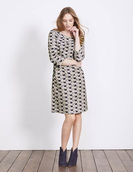 Porridge Swan Christina Cord Dress