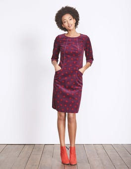 Black Forest Oak Leaf Christina Cord Dress