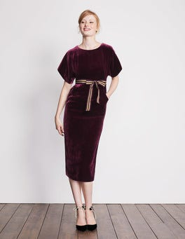 Robyn Velvet Dress