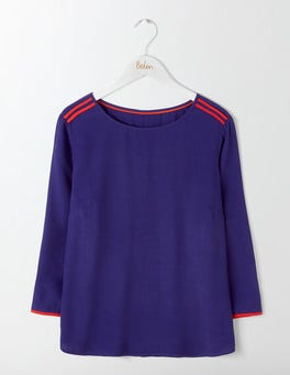 Dark Blue Philippa Top
