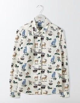 Ivory Heraldic The Classic Shirt