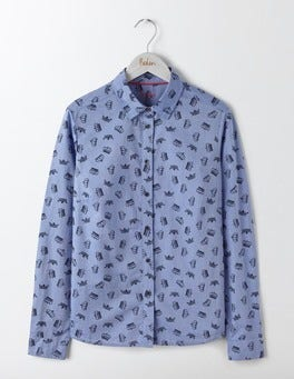 Navy Crown The Classic Shirt