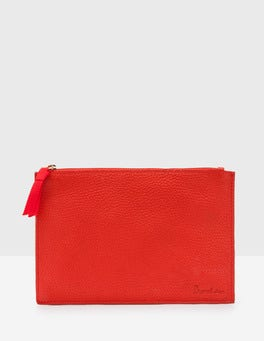 Post Box Red Keepsake Pouch