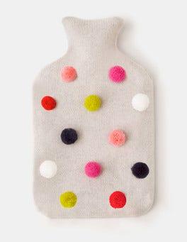 Silver Melange Cosy Hot Water Bottle