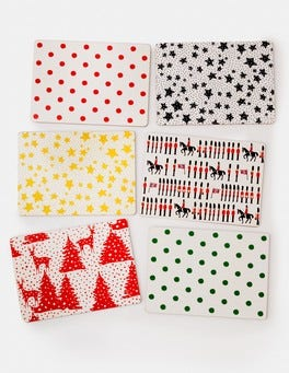 Christmas Print Festive Placemat Set