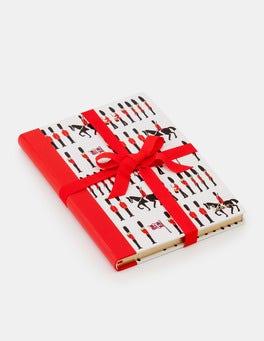 Ivory Guards Festive Hardback Notebook