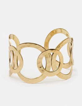 Antique Gold Metallic Madeline Cuff