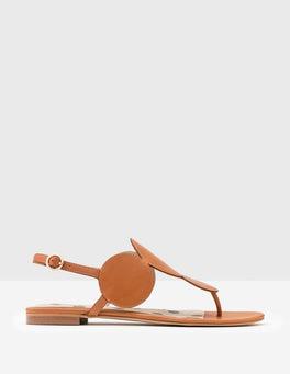 Tan Aubury Sandals