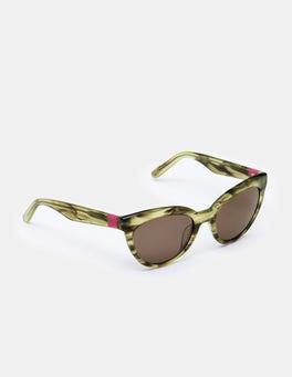 Khaki Tortoiseshell Blair Sunglasses