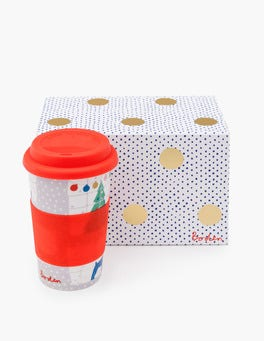 Breeze Christmas Windows Festive Travel Mug
