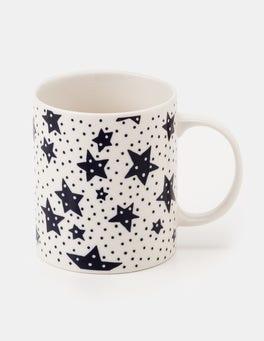 Ivory Cosmos Festive Mug