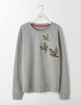 Christmas Birds Make-A-Statement Sweatshirt