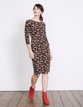 Multi Field Hare Penny Jersey Dress