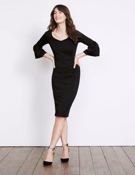 Black Betty Ponte Dress