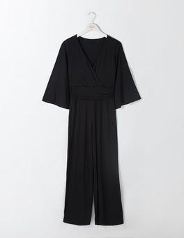 Black Lorelai Jersey Jumpsuit