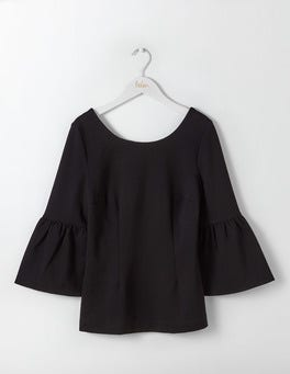 Black Betty Ponte Top