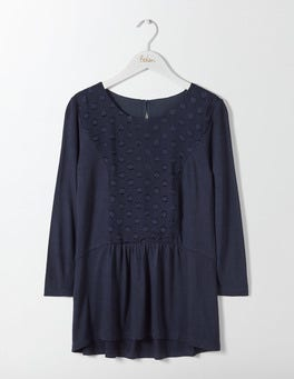 Navy Jessa Jersey Top