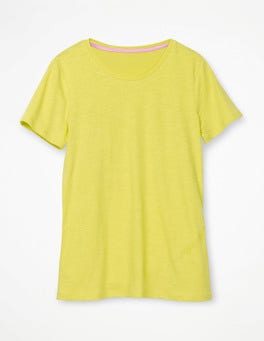 Citrus The Cotton Crew Neck Tee