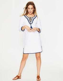 White Kasia Jersey Tunic