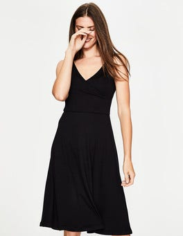 Black Willa Jersey Dress