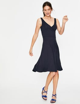 Navy Willa Jersey Dress