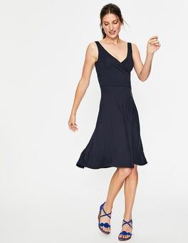 Navy Willa Jersey Dress