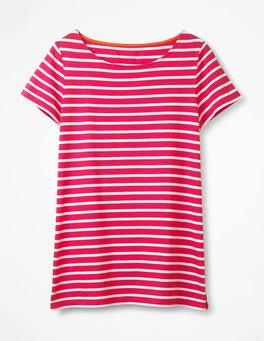 Carnival Pink/Ivory Short Sleeve Breton