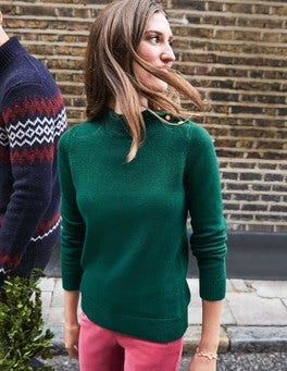 Tessa Button Neck Jumper