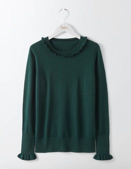 Deep Forest Bernadette Sweater