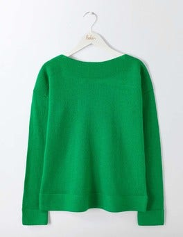 Highland Green Brie Sweater