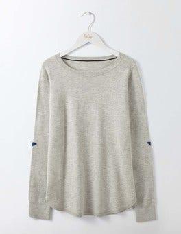 Silver Melange Susie Sweater