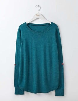 Dark Cyan Susie Sweater