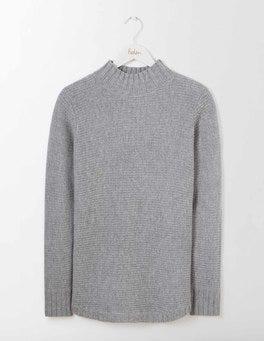 Grey Melange Briar Sweater